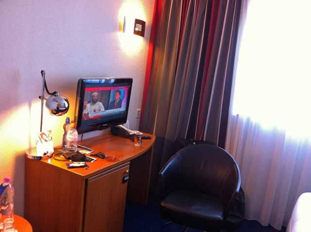 アムステルダム・インテルホテルの部屋