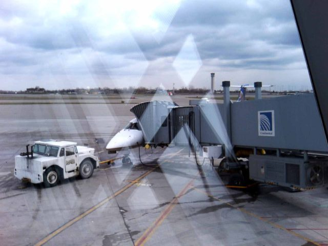 バッファロー国際空港で撮影