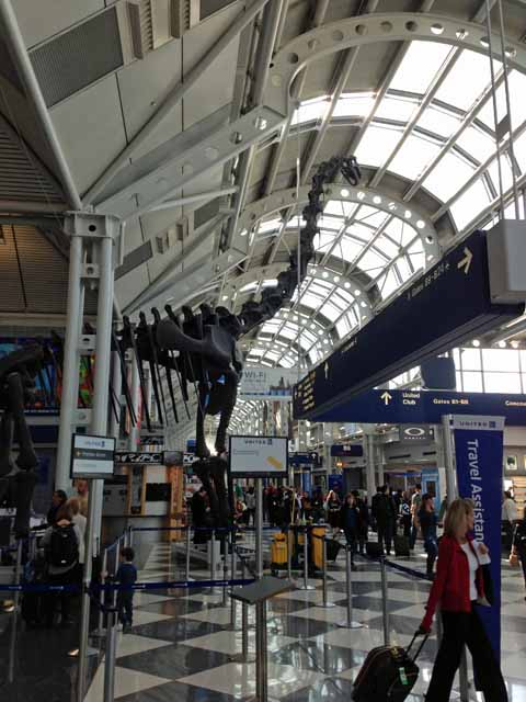 シカゴ・オヘア空港で撮影。