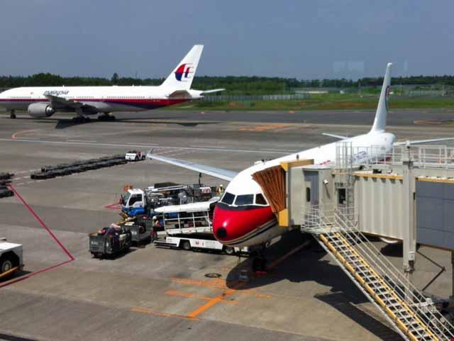 中国東方航空 成田空港で撮影。