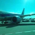 成田空港で撮影