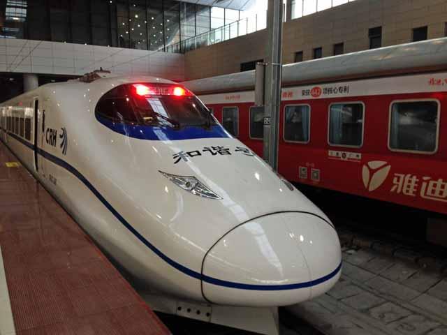 中国高速鉄道の写真