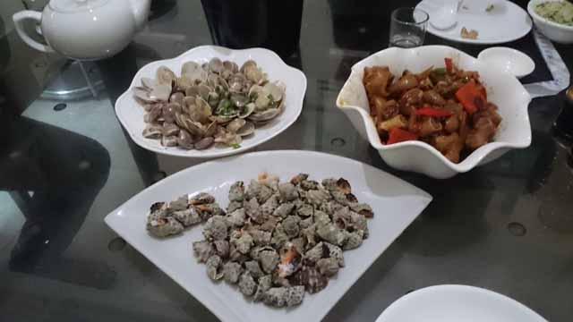 福州の海鮮料理屋