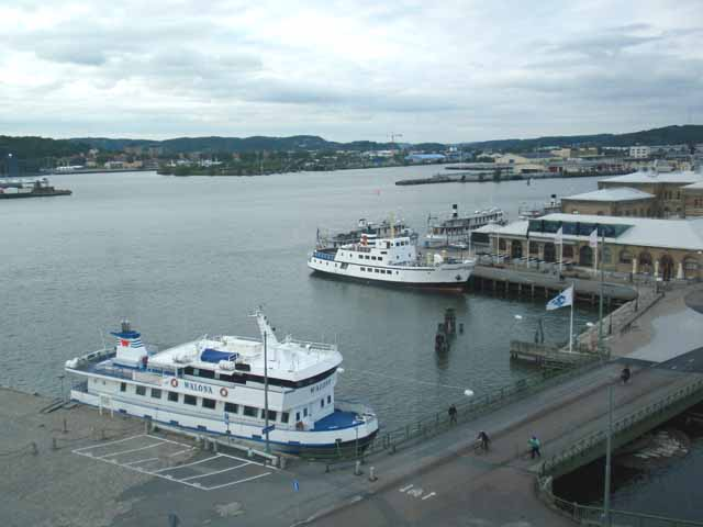 Gothenburgのホテルの部屋から撮影