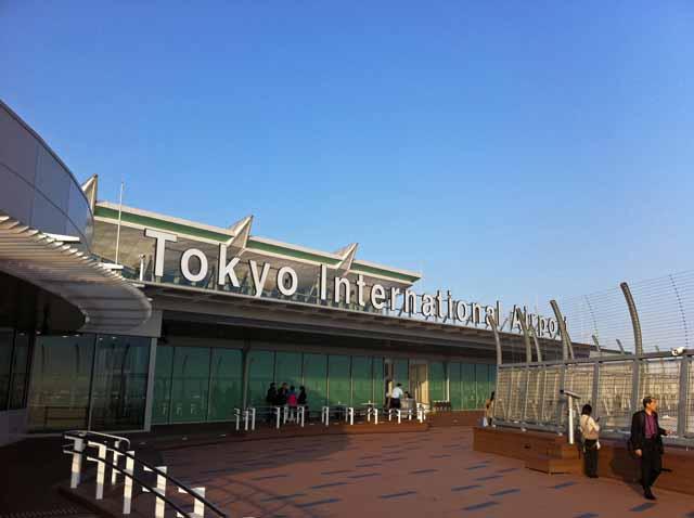 羽田空港国際線ターミナル、展望デッキ