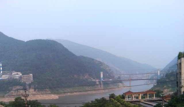 重慶で撮影