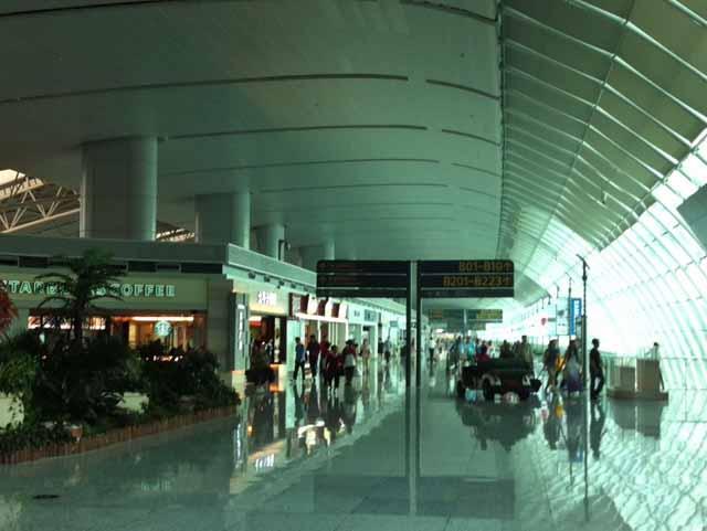 広州の空港で撮影