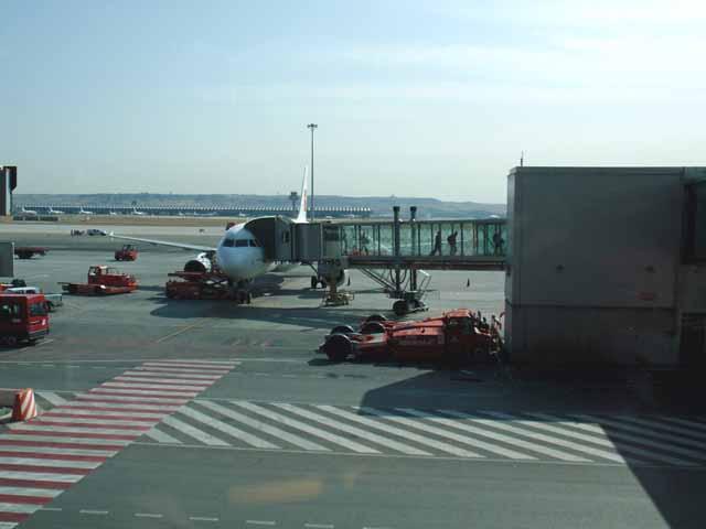 マドリッドの空港