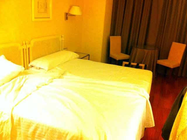 マドリッド・ベストウエスタン・アロサホテルの部屋。
