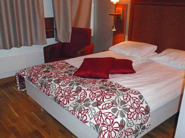 Scandic Hotel Byporten Osloのツインルーム
