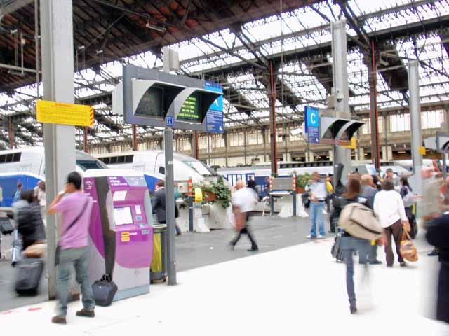 パリ・リオン駅