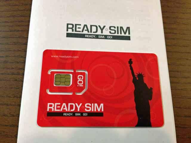 Ready SIMカード