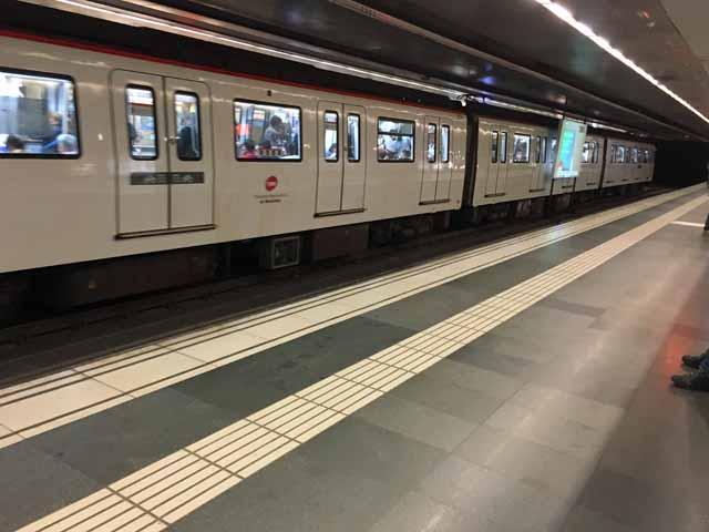 バルセロナ地下鉄