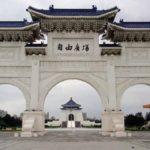 台湾民主記念館。ホテルから20分ほど歩いたところにあった。