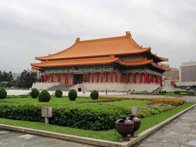 台湾民主記念館の中にある、國家戯劇院(オペラハウス)