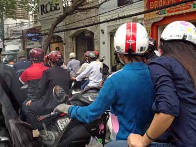 ベトナム・バイクが多い